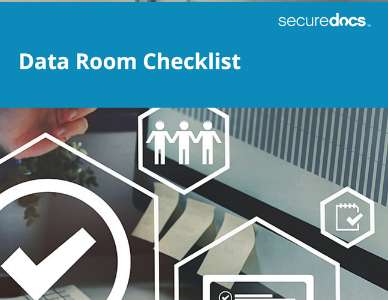 SD_Website Cover_Data Room Checklist_July2019