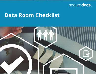 SD_Website Cover_Data Room Checklist_July2019