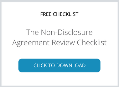 Download the NDA Review Checklist.